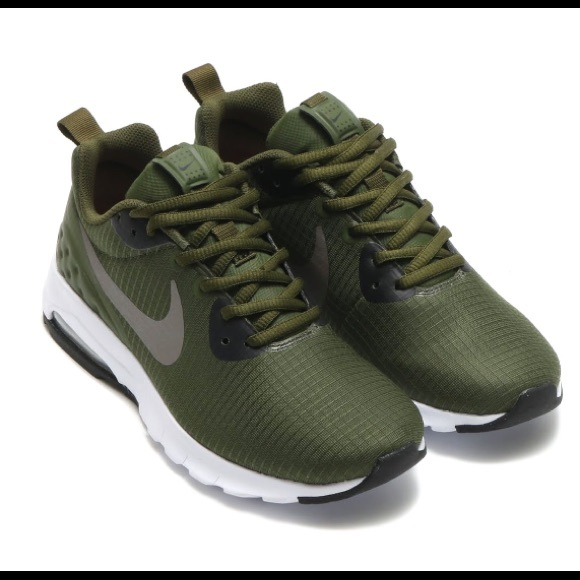 Euc Nike Air Max Motion Green Shoe